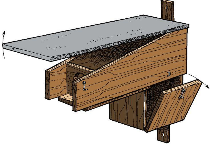 les 65 meilleures images propos de nichoirs pour chouettes sur pinterest adn bo te d 39 hibou. Black Bedroom Furniture Sets. Home Design Ideas