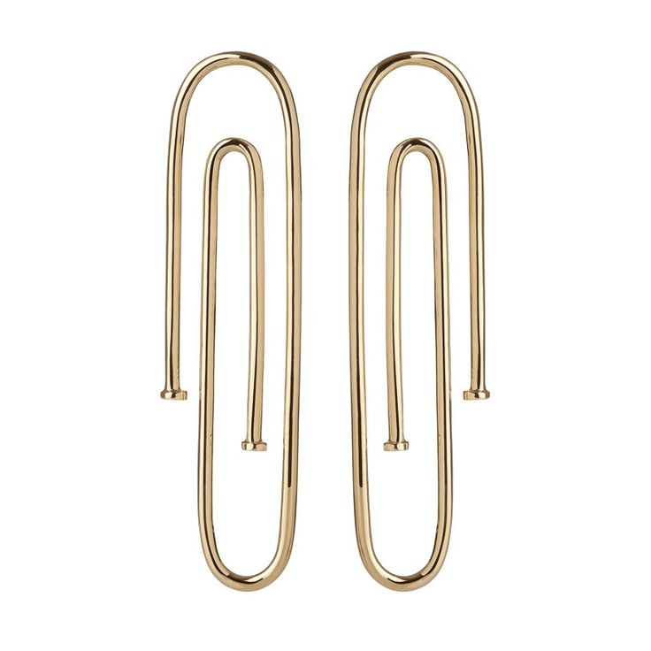 The Pipe Earring Collection is meant to be worn layered or mixed and matched. Wear a Long Pipe Earring in one ear and a Mini Pipe Huggie Hoop in the other- or two side by side in multiple holes. We love creating a statement ear.  Spring '17 Collection