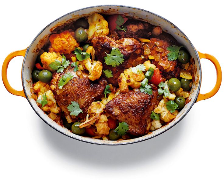 NYT Cooking: Daniel Boulud's Chicken Tagine