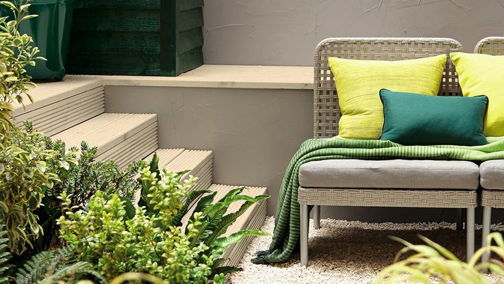 Colour experts and garden designers on how painting a wall, fence or furniture can transform your outdoor space.