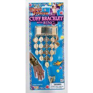 Desert Princess Cuff Bracelet/Ring Accessory Forum Novelties Inc.. $5.17