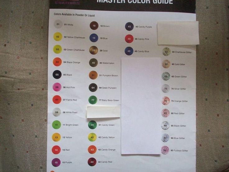 6-1oz bags powder paint(Pro-Tec) you pick your colors. message me with them #Protec