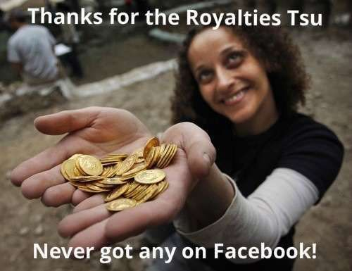 #TSU Is The First Social Network That Pays Users For  Content     https://www.facebook.com/TSUCash