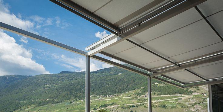 1000 ideas sobre toldos para pergolas en pinterest for Toldo horizontal terraza