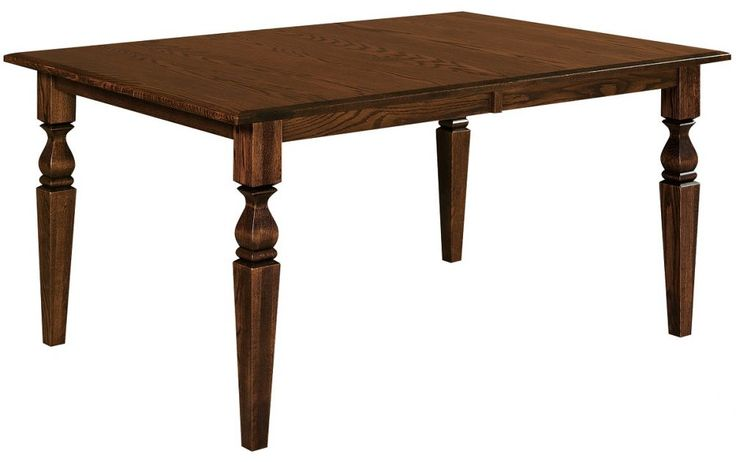 Tasteful legs in Traditional style make our solid hardwood Woodbury Point Butterfly Leg Table a welcome addition to any classic kitchen or dining room.