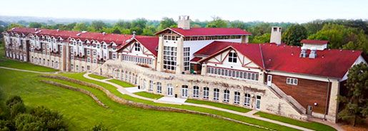15 Unique Places to Stay in Nebraska.  In the photo:  Lied Lodge and Conference Center, Nebraska City