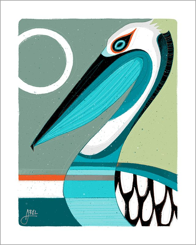 8x10 Pelican Print for ArtPack1 © Erik Abel 2015