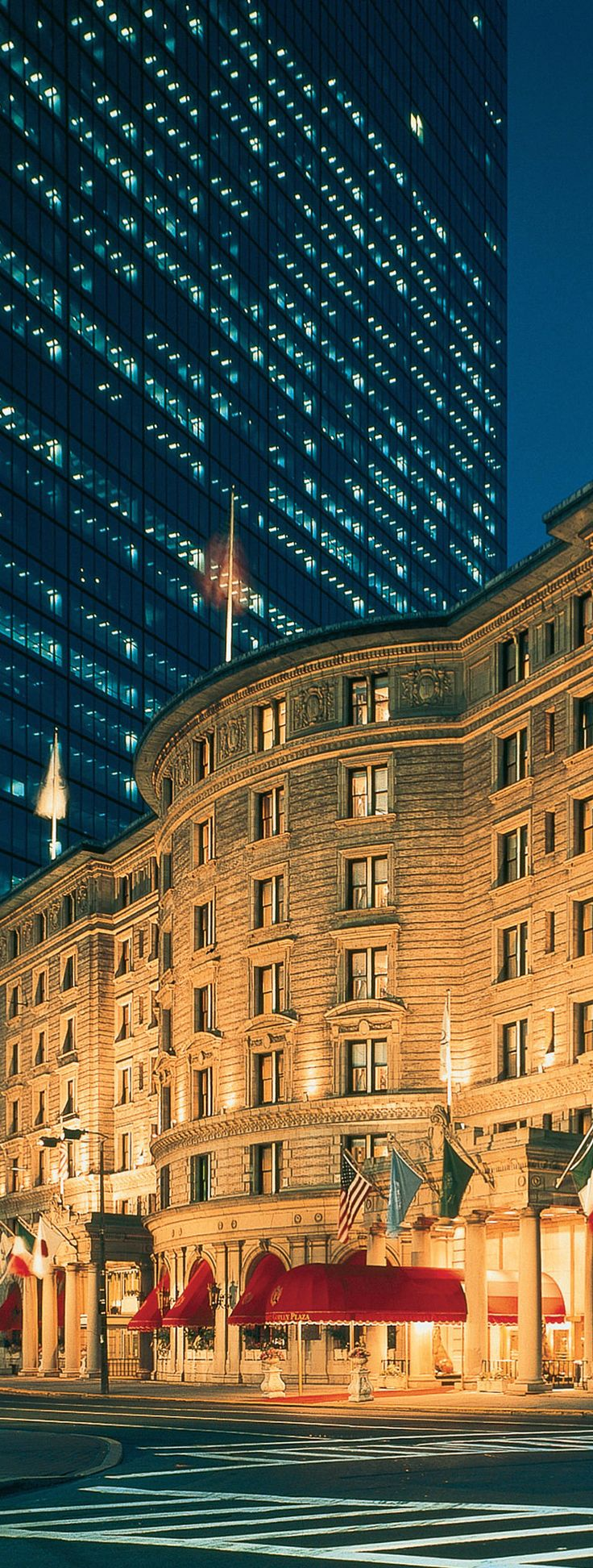No hotel marries #Boston's heritage and modern style better than the Fairmont Copley Plaza.