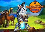La zebra è immersa in un gioco molto complesso e da bravo amico, hai deciso di aiutarla! Il tuo obiettivo è individuare l'intruso che si nasconde tra gli oggetti. Aguzza la vista!