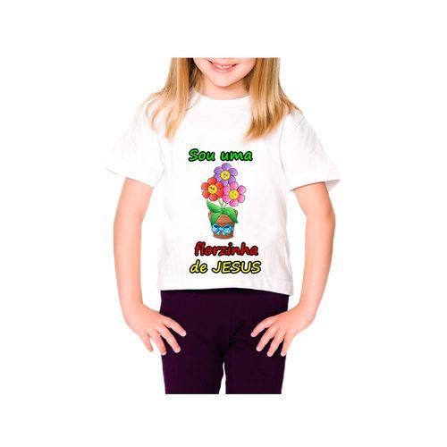 Resultado de imagem para sou uma florzinha de jesus camiseta