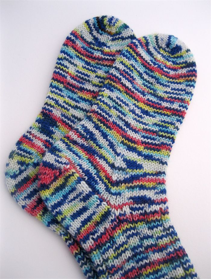 Handmade Socks, Handknit Thick Socks, Unisex Size M, hand knitted with Opal Yarn (sold)