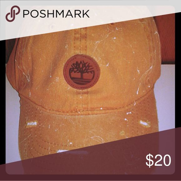 Custom Timberland Hat (Dad Hat) Distressed Wheat Timberland Dad Hat  Designed by CustomBrim. Timberland Accessories Hats