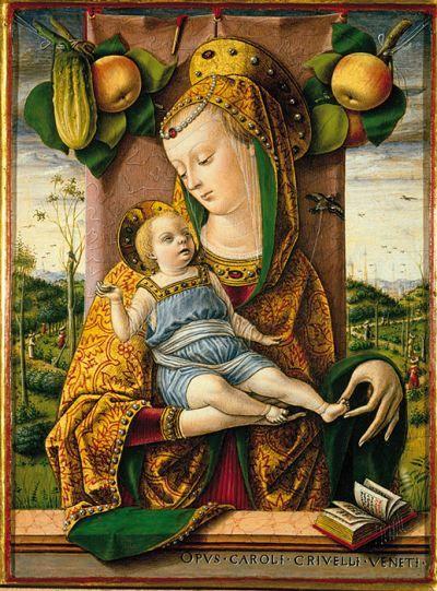 Madonna col Bambino, Carlo Crivelli, 1480 circa (tempera e oro su tavola)…