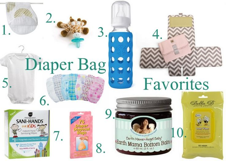 Packing the Perfect Baby Diaper Bag