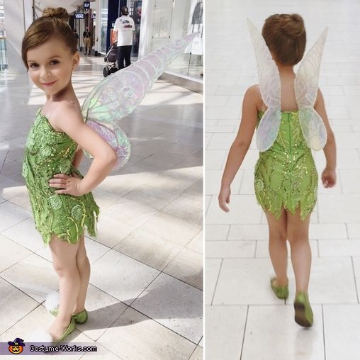 DIY Tinkerbell Costume - 2016 Halloween Costume Contest