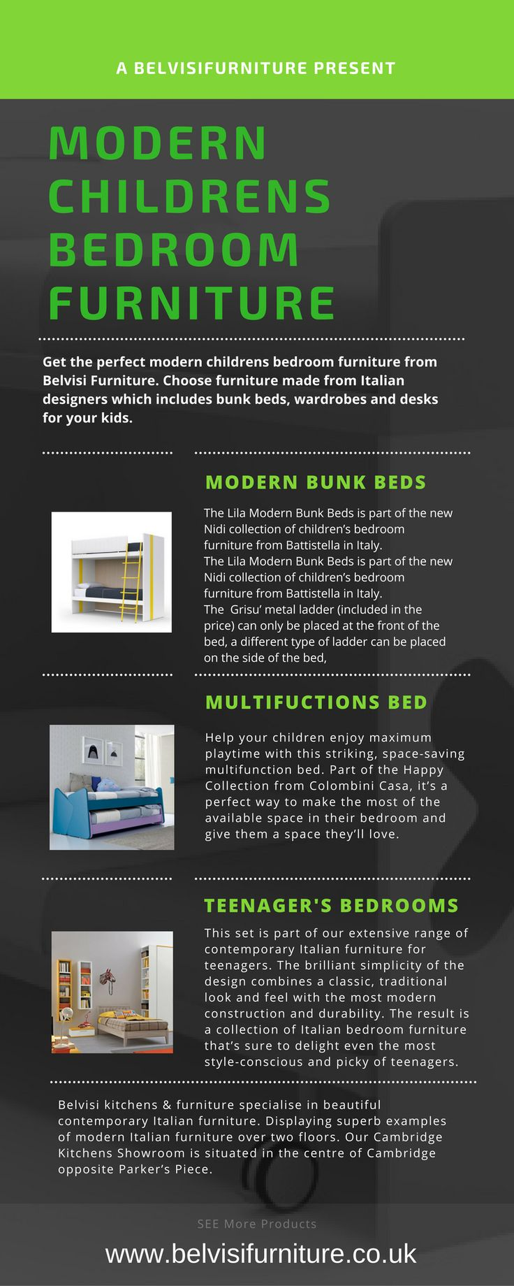 get the perfect modern childrens bedroom furniture from belvisi furniture choose furniture