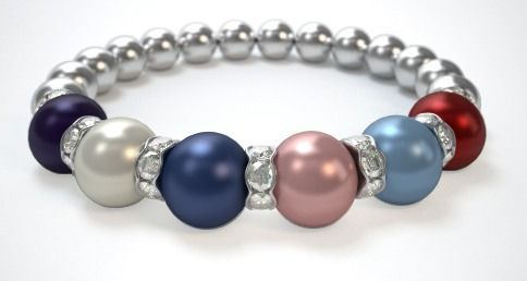 Beautiful mothers day gift at reasonable prices.  Design a Mothers Bracelet in just 3 easy steps. Use this link for FREE shipping.