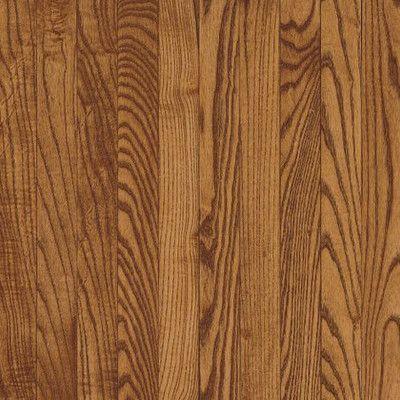 "Bruce Flooring Waltham Plank 3-1/4"" Solid White Oak Hardwood Flooring in Gunstock"