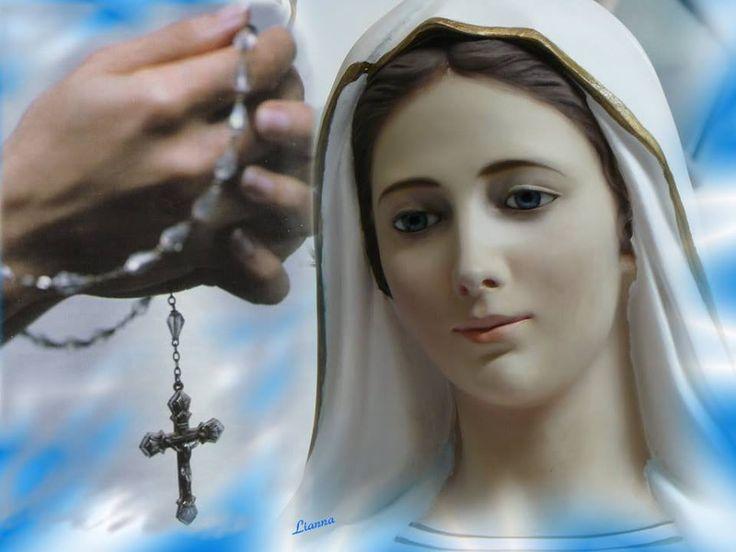 (Moltissimi fedeli hanno testimoniato di avere ricevuto miracoli o Grazie particolari, recitando ogni giorno con Fede questa preghiera) Immacolata Concepit