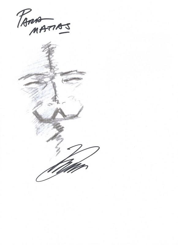 MIS DIBUJOS DE DIBUJANTES DE COMIC: V de Vendetta de David Lloyd