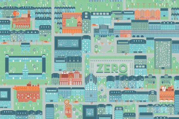 Zero Illustrated Maps by LA TIGRE