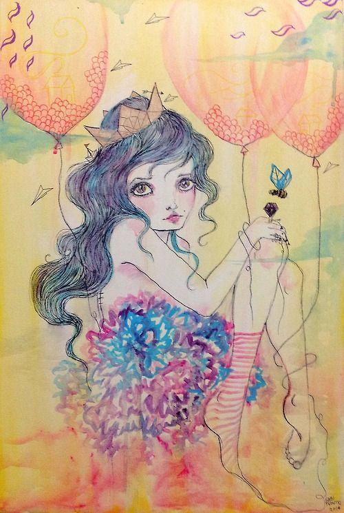 #canvas #painting #illustration #nurseryart