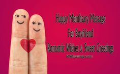 Happy Monthsary Message For Boyfriend - Romantic & Sweet Greetings