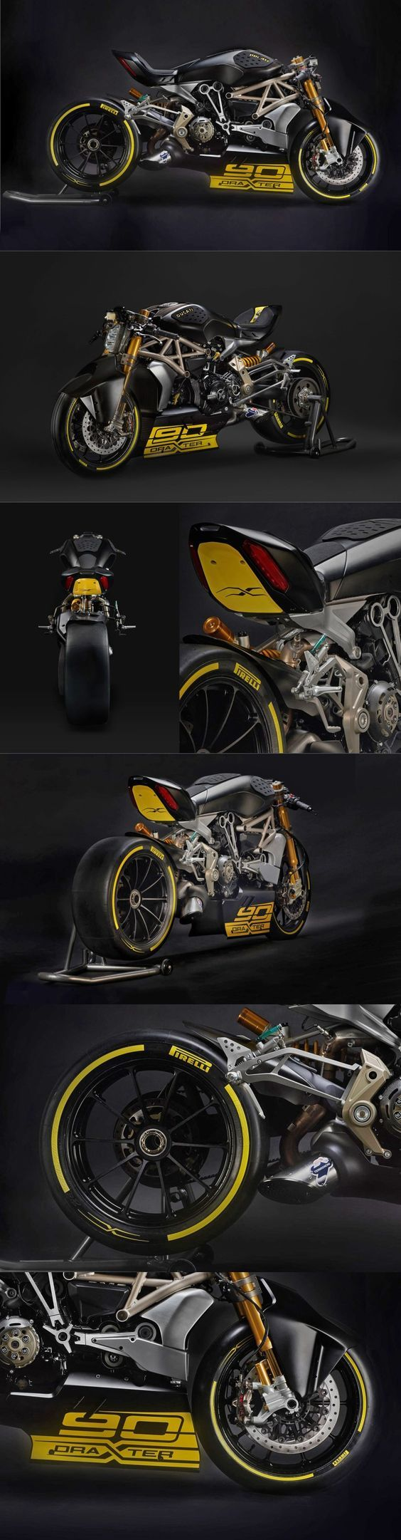 Ducati Diavel DraXter - Return of the Cafe Racers: