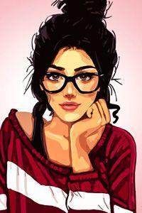 Аватар вконтакте Девушка - брюнетка в очках (© PolinaPolina), добавлено: 05.10.2014 00:06