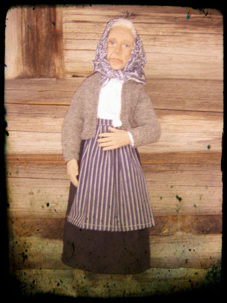 Old Karin by Marit Wallenberg www.maritwallenberg.se