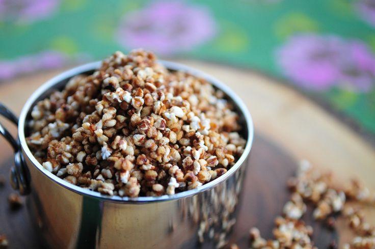 Popcorn z kaszy gryczanej4