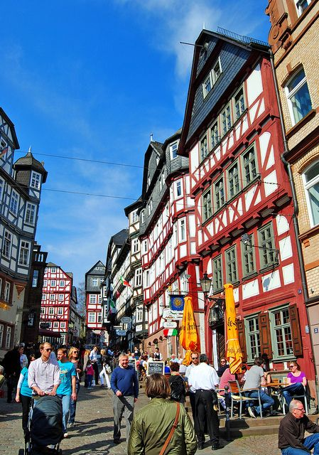 Colourful Marburg, Germany