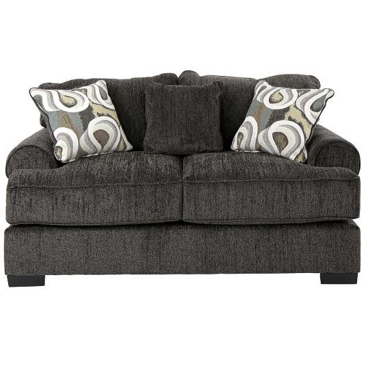 Carson 2 Sofa In Granite Jerome S Furniture