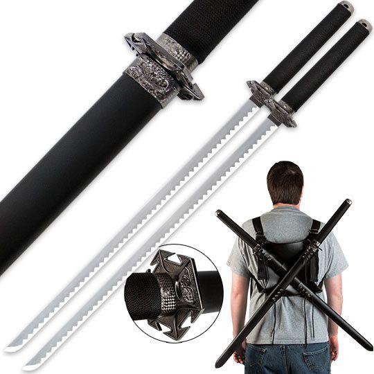 http://www.trueswords.com/Two-Piece-Fantasy-Sword-Set-w--Shoulder-Scabbard-Harness-