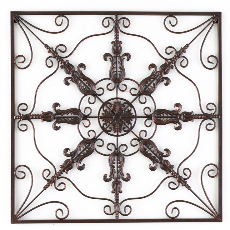 Make A BIG Statement With This Large Metal Wall Medallionu2026a Celebrating Home  Direct Exclusive Item. Elaborate Scrolling And A Rich Bronze Finish In An  Open ...