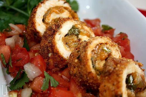 chicken chili relleno rolls