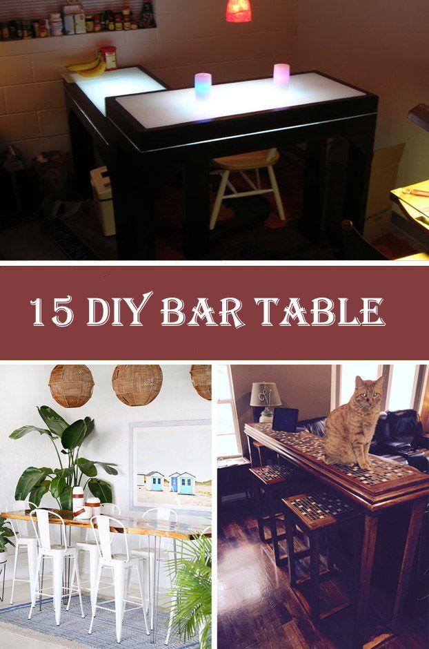 15 DIY Bar Table