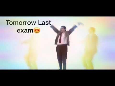 Tomorrow last exam whatsapp status funny😂😂😂😂😂😂😂 - YouTube