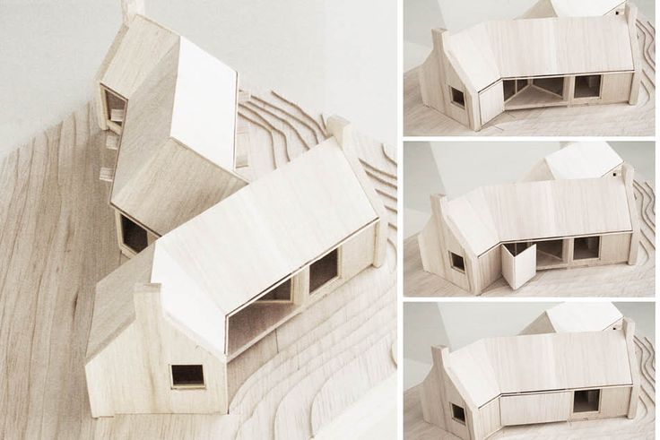 Håkon & Haffner | Cabin Harris, Norway, architectural model