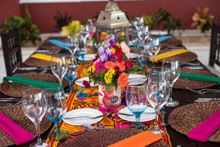Channel the brightness and fun of Mexico at your reception here at Zöetry Paraiso de la Bonita! #DestinationWedding #ReceptionInspo #ReceptionDecor #ZöetryParaisodelaBonita