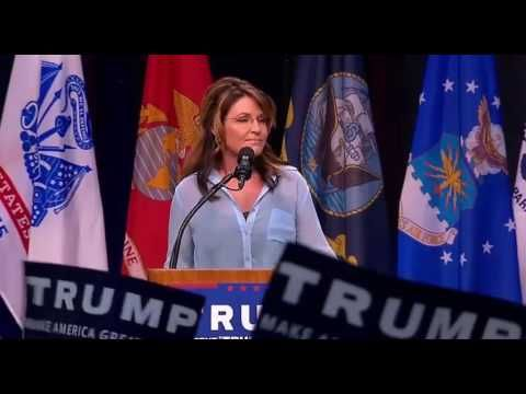 In Rambling Speech, Palin Unleashes on Obama for 'U.S. Apology Lap' in Hiroshima | Video | TheBlaze.com