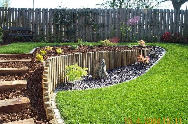 802 best Landscaping a slope images on Pinterest | Gardens ... on Sloping Gardens Design Ideas id=50288