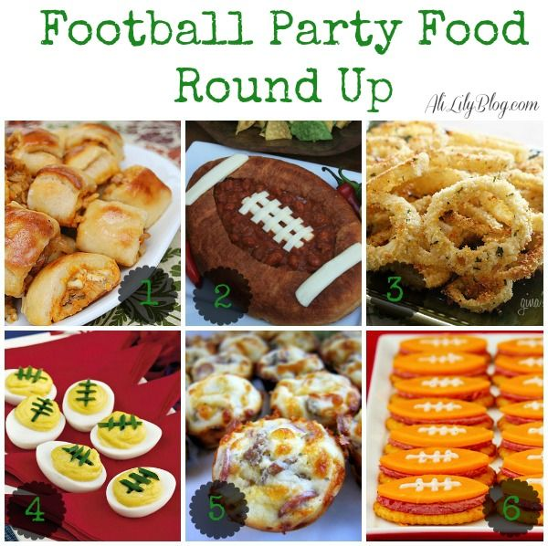 42 Fantastic Football Party Food Ideas