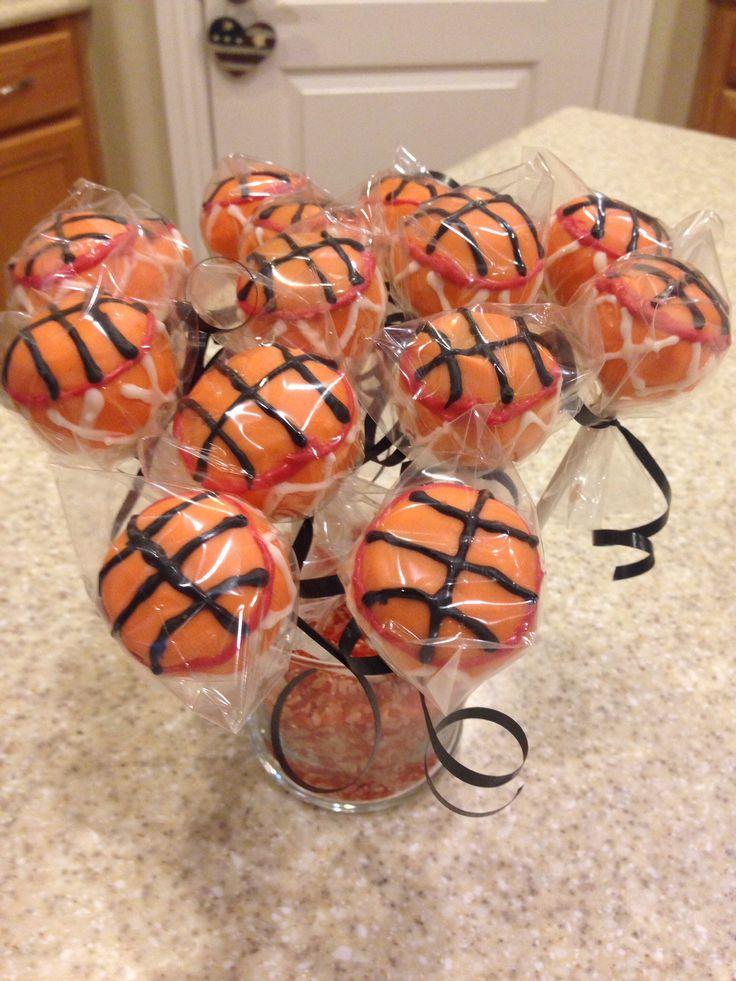Basketball cake pops 2014 basketball cake basketball