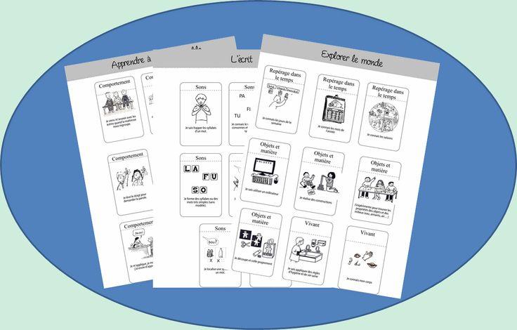 Cahier de progrès - La classe d'Ameline