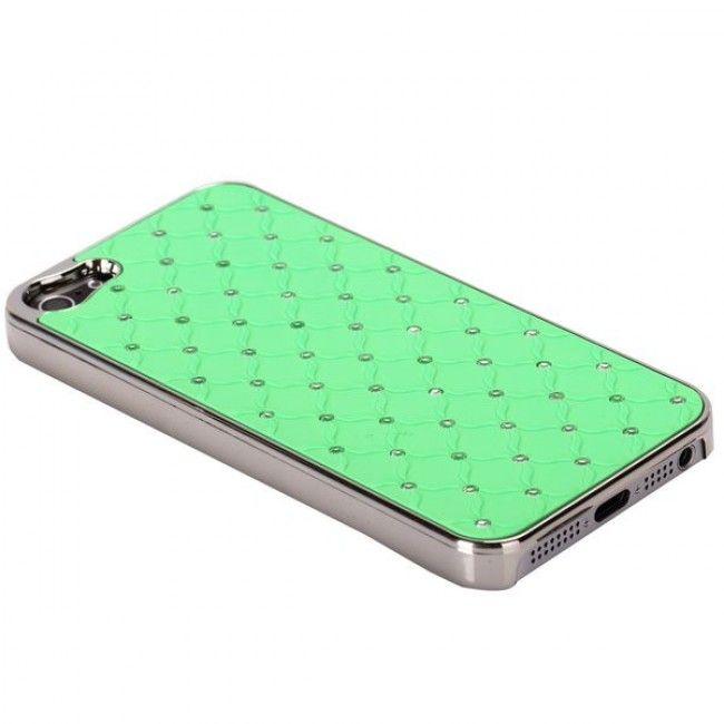 Victoria Bling (Vihreä) iPhone 5S Suojakuori - http://lux-case.fi/victoria-bling-vihrea-iphone-5-suojakuori.html