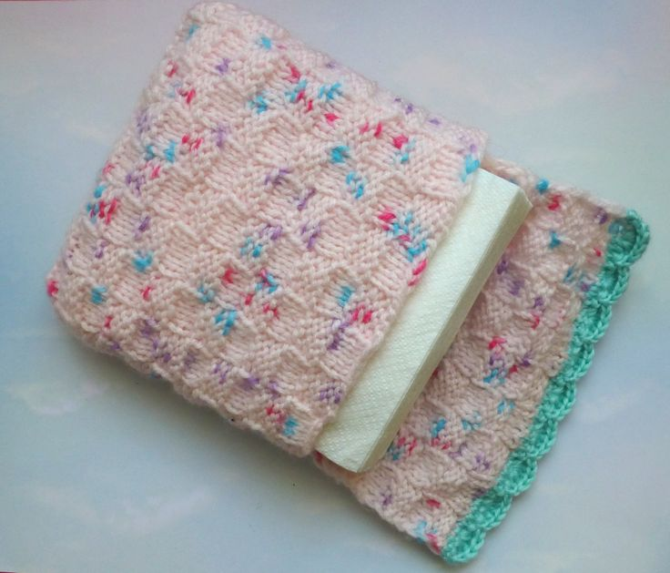 Knitting Pattern Tissue Holder : 93 best images about crochet napkin holder on Pinterest ...