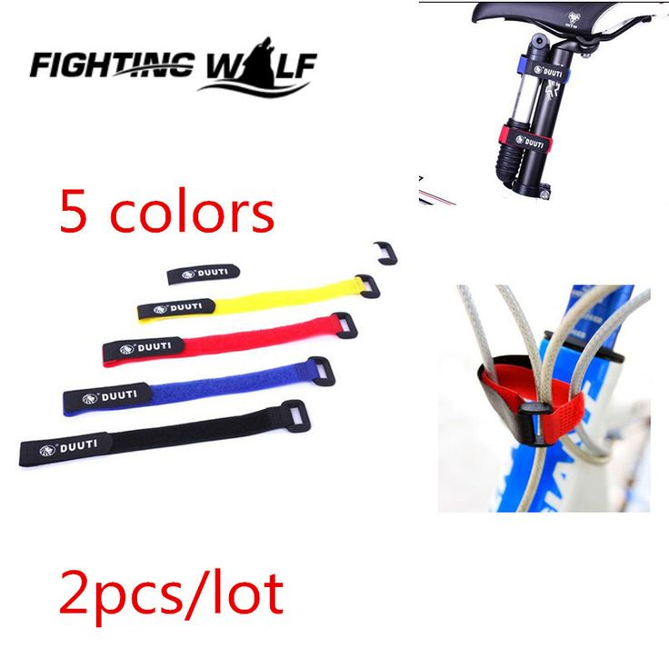 2pcs/lot  Bike Bicycle Handlebar Strap Holder Cycling Flashlight Tie Rope Bandages Outdoor Sport Riding Pump Bottle Straps