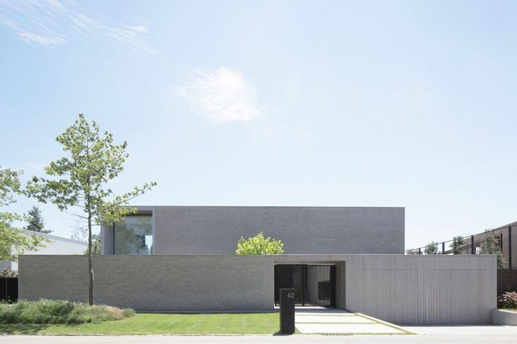 House VNZ in Zonnebeke Belgium by Beckers Noyez Architecten