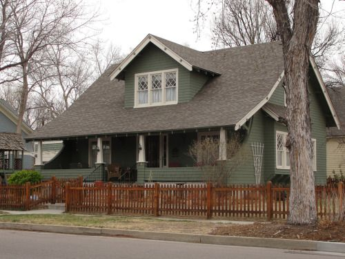 Craftsman Bungalow by -bossco- http://flic.kr/p/9yC8gL